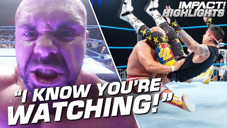 Michael Elgin Goes on a VIOLENT RAMPAGE IMPACT Highlights Oct 18 2019.jpg
