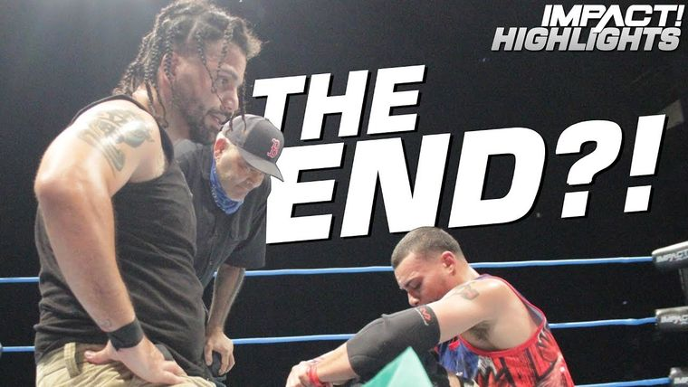 LAX's Emotional Reaction After Devastating Main Event Loss IMPACT Highlights Sep 6 2019.jpg
