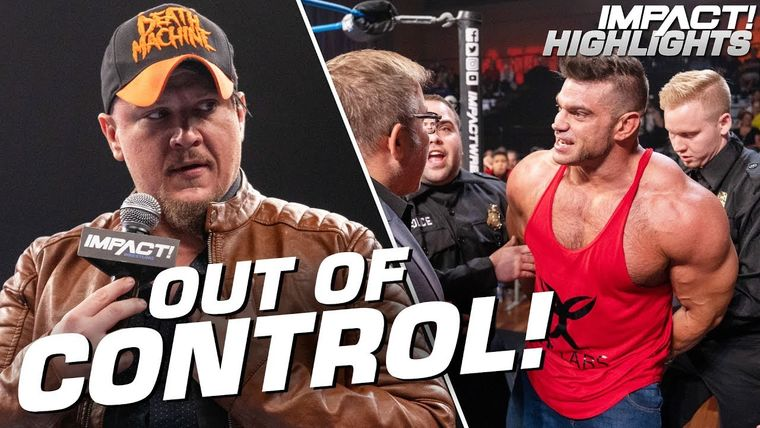 Brian Cage ARRESTED After Violent Rampage IMPACT Highlights Oct 4 2019.jpg