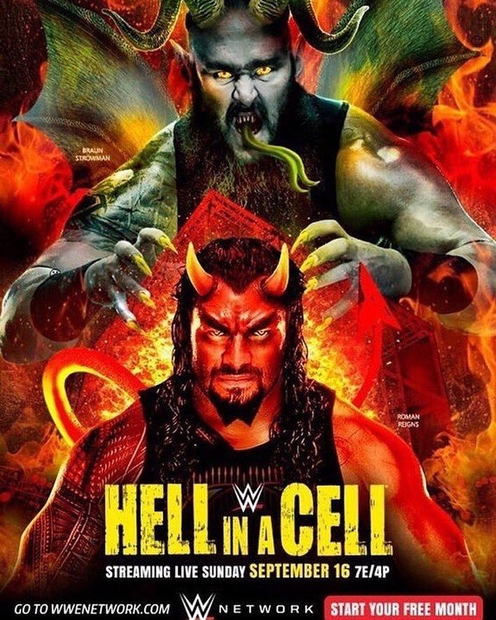 WWE-Hell-In-A-Cell-2018-Official-Poster-Universal-Champion-Roman-Reigns-Braun-Strowman.jpg
