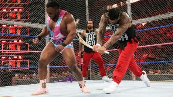 The Usos and New Day went to war inside of Hell in a Cell.jpg