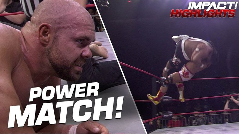 Forces COLLIDE In An Epic Match With Michael Elgin and Fallah Bahh IMPACT Highlights Nov 5 2019.jpg